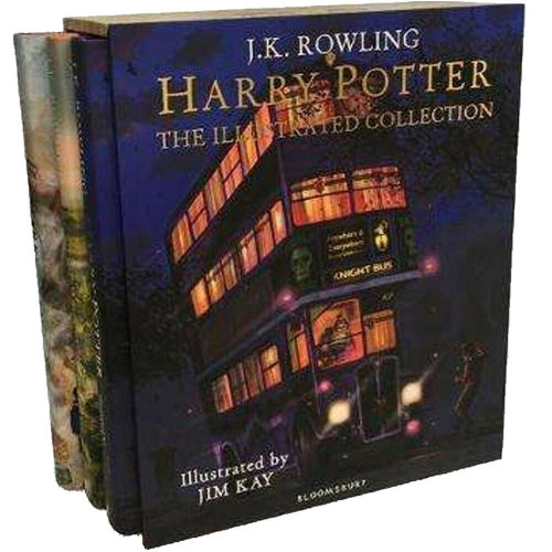 Harry Potter The Illustrated 3 Books Colllection Box Set