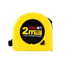 Tape Measure with End Hook, Metric,2m/6.6 Ft
