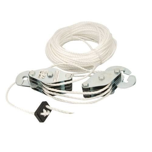 Silverline Cable Pulley Set - 180kg | Cable Pulleys