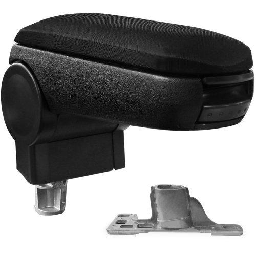 [pro.tec] Armrest - inkl. Storage Box - padded - textil - black