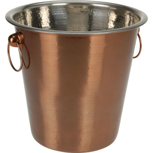 Kabalo Copper Champagne Ice Bucket Stainless Steel Beer Wine Spirit Drinks Cooler Party Kitchen Accessory
