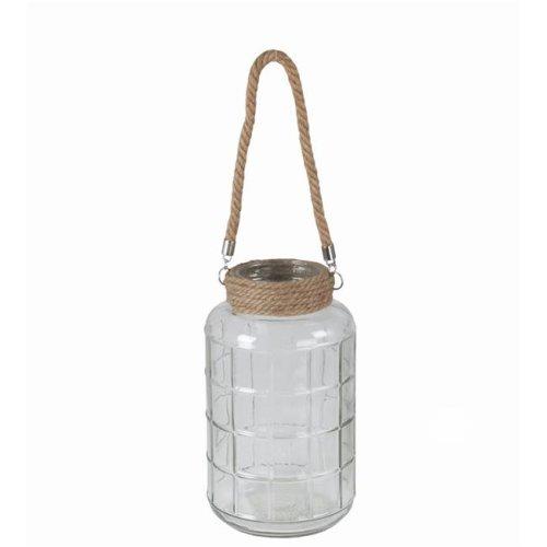 Privilege 47011 Glass Lantern, Large