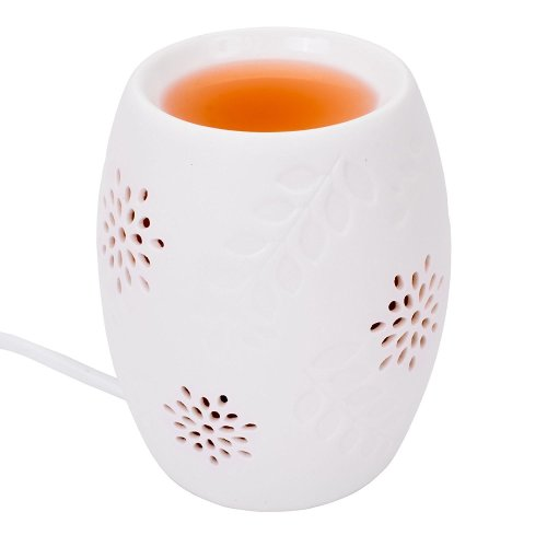 Aroma White Electric Wax Melt Burner Warmer Suitable For Yankee Tarts