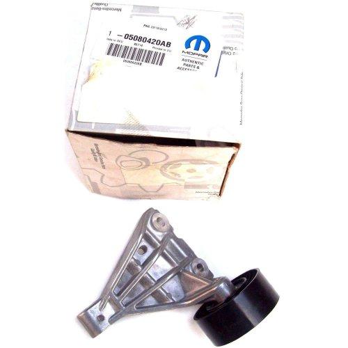 Chrysler Drive Belt Bracket & Pulley Genuine New Mopar 5080420AB