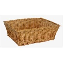 Extra Large Rectangular Wicker Tray