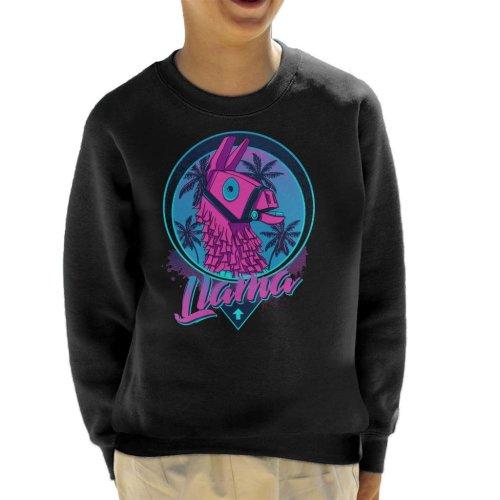 Find The Llama Fortnite Kid's Sweatshirt