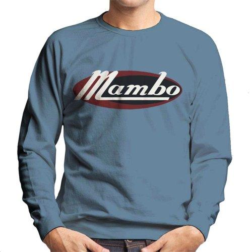 Mambo Retro Ellipse Logo Men's Sweatshirt