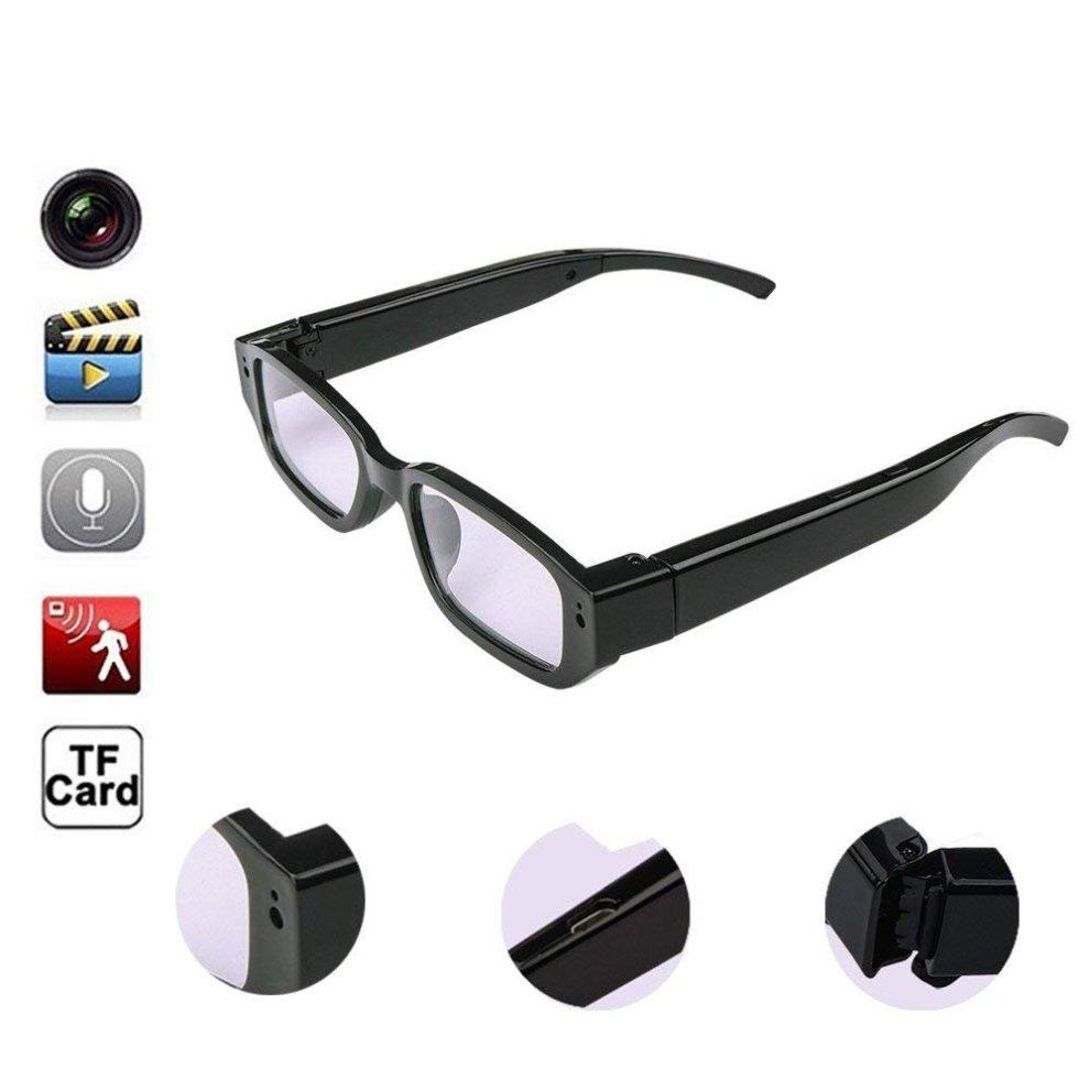 65e00d570596 Oumeiou Real Full HD 1080P USB2.0 Spy Camera Glasses Eyewear Mini Hidden  Camera Video Recorder Camcorder DV DVR Voice Recorder 5MP for... on OnBuy