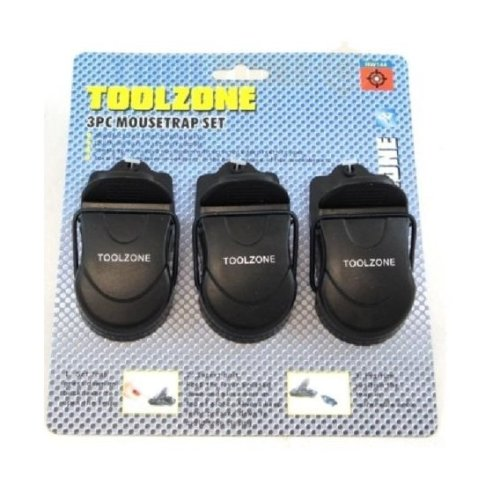 Toolzone 3pc Mouse Traps
