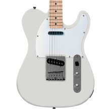 Fender Squier Affinity Telecaster Electric Guitar, Arctic White, Maple