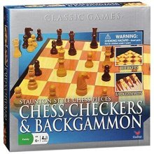 Chess/Checkers and Backgammon Set