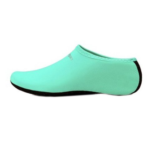 Sand Socks Water Skin Shoes Diving Socks,Blue L