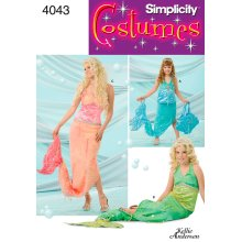 SIMPLICITY CHILD'S, GIRLS' AND MISSES' C-ALL SIZES