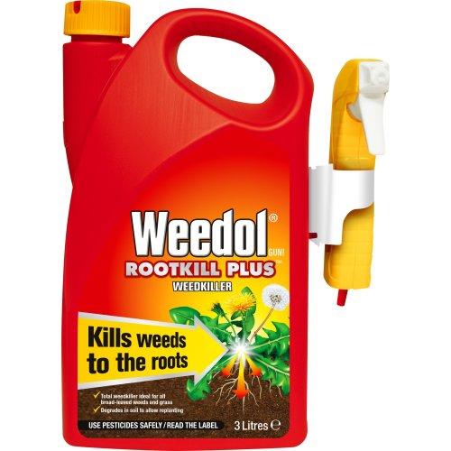 Weedol 020015 Weedkiller, Clear, 3 liters