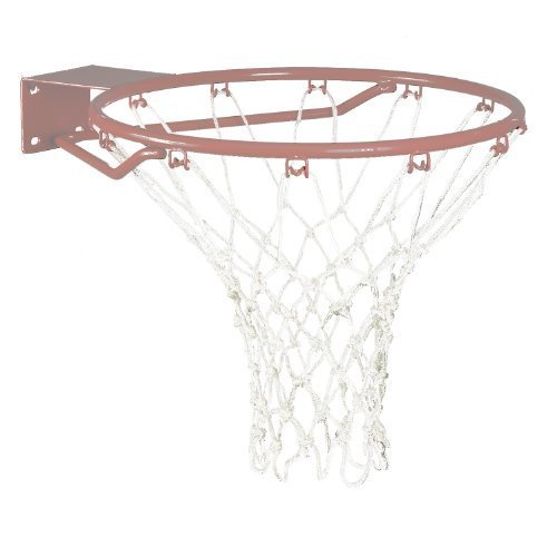 Regent MacGregor Heavy Duty Nylon Basketball Net (White, Small)