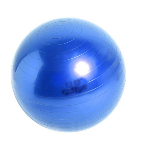 Yoga Ball Exercise Ball Casual Chair Keep Fit For People-Blue