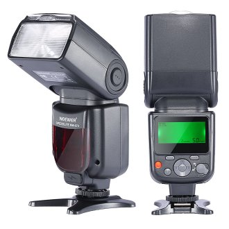 Neewer NW-670 TTL Flash Speedlite with LCD Display for Canon 7D Mark II,5D Mark II...