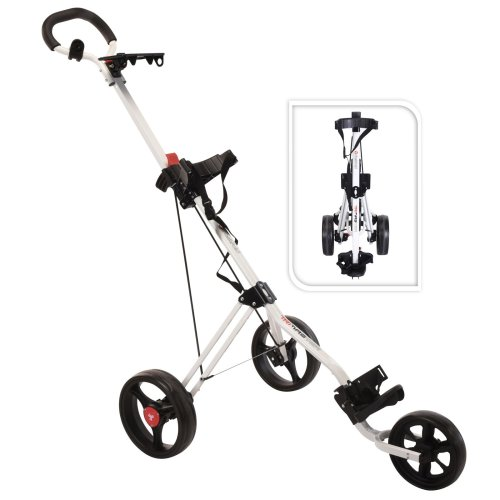 FastFold TriMaster 3 Wheel Push Golf Cart Trolley