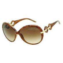 Roberto Cavalli Tortoise Ladies Sunglasses RC519S-53F