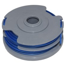 Trimmer Strimmer Spool & Line Double Autofeed Compatible With Flymo FLY021