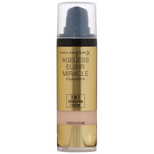 Max Factor Foundation Ageless Elixir Miracle - Porcelain 30