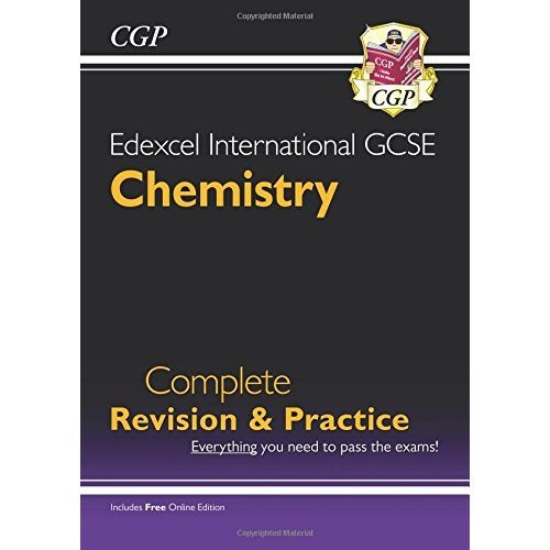 Edexcel Certificate/International GCSE Chemistry Complete Revision & Practice with Online Edn (A*-G)