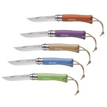 Opinel Trekking Knife - 7.5cm Sandvik Stainless Steel Safety Lock Blade