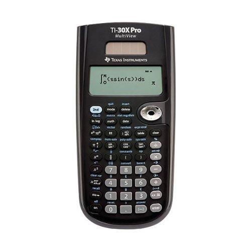 Texas Instruments Scientific Calculator with Multi-Line Display (TI30XPROMV)