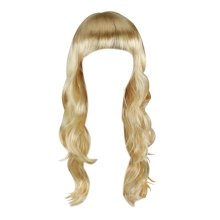 "Trixes Blonde Long Wavy Hair Wig 20"" for Cosplay & Fancy Dress"