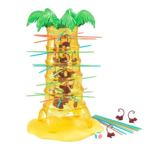 Traditional Tumbling Monkeys Tree Board Game Play Set with 30 Monkeys - ECO-FRIENDLY Design