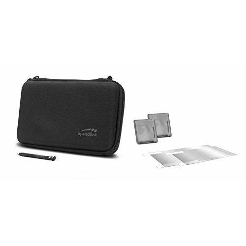 SPEEDLINK 7-in-1 Starter Kit for Nintendo 2DS XL, Black (SL-540300-BK) (2DS) (New)