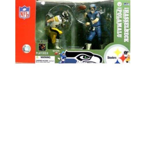 McFarlane Toys NFL 2-Pack Troy Polamalu and Matt Hasselbeck