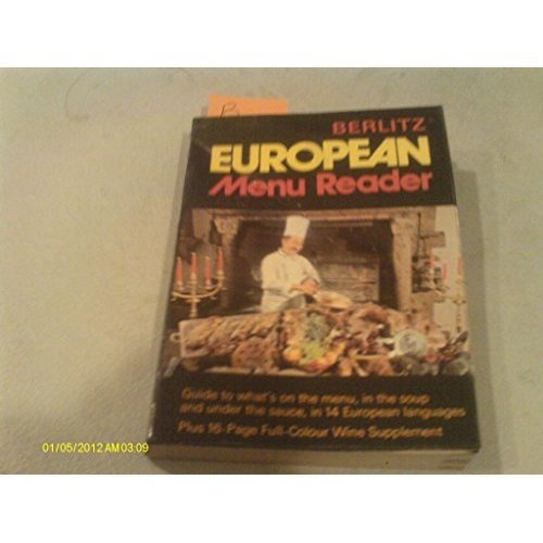 Berlitz European Menu Reader (European Guides)