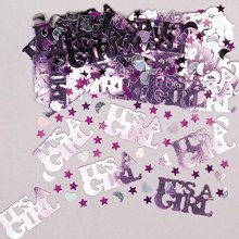 It's a Girl Metallic Confetti 14g -