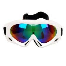 Snow Goggles Windproof Eyewear Ski Sports Goggle Protective Glasses White