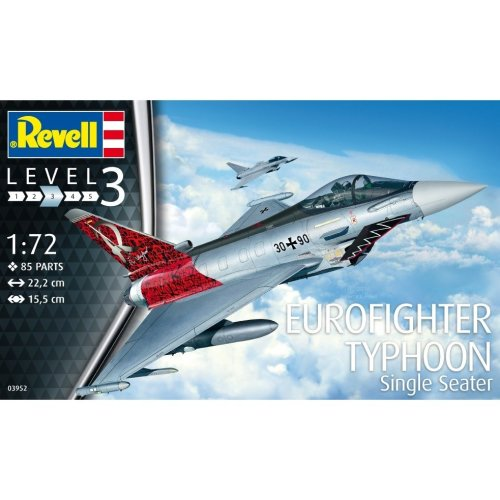 Rv03952 - Revell 1:72 - Eurofighter Typhoon