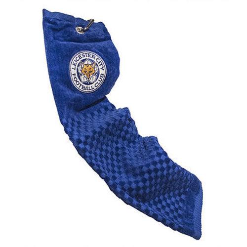 Leicester City Tri-fold Golf Towel - Blue - Trifold Football Official Fc -  towel trifold leicester city golf football official fc