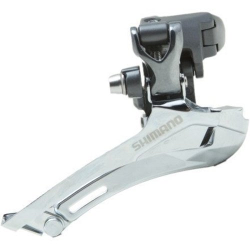 Shimano FD-CX70 10-speed Cyclocross Front Derailleur (Double– Top Pull–28.6/31.8 Clamp Mount)