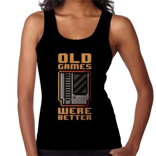 Old Games Were Better Women's Vest