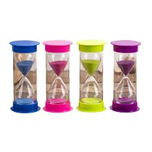 Interesting Creative Hourglass 5 Minutes Sand Glass Toys Kitchen Timer,D5