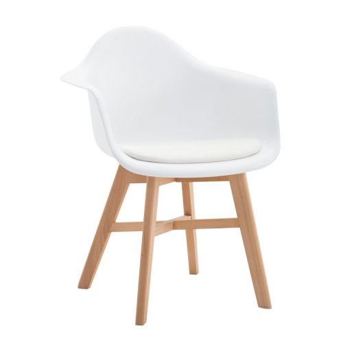 Visitor chair Calgary leatherette Natura