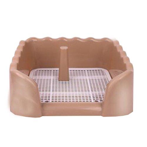 Dog Toilet Puppy Dog Brown Pet Potty Patch Training Pad Pet Supplies 40 X 40 CM