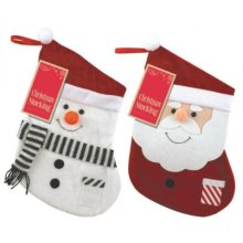 Eurowrap Christmas Stockings - Santa -  eurowrap christmas stockings santa