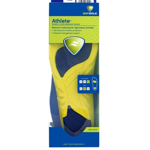 Sofsole Insoles Athlete (Womens UK Size 3-5)