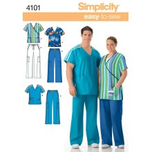 Simplicity Plus Size Scrubs-XL XXL XXXL
