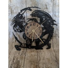 AVPR: Aliens vs Predator Vinyl Record Clock home decor gift