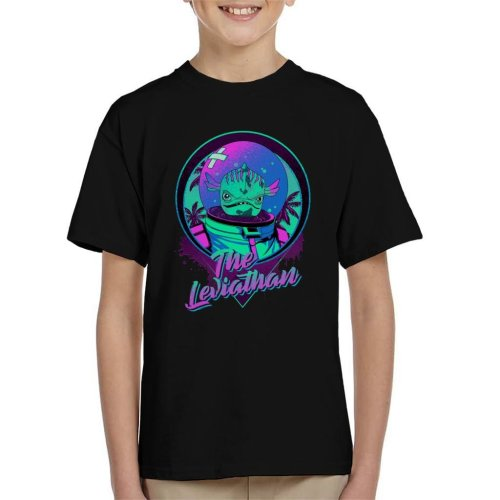 Fortnite The Leviathan Neon Kid's T-Shirt