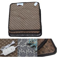 45x45cm Pet Warm Electric Waterproof Heated Heating Pad Mat Blanket Bed For Dog