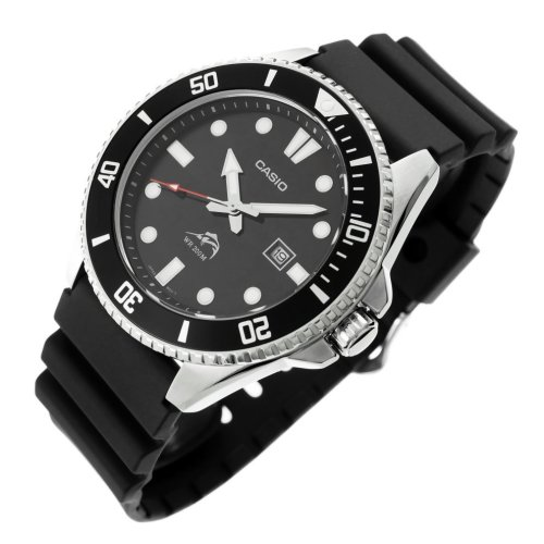 Casio MDV106-1A Men's Analogue Sports Watch - Black | Diving Watch
