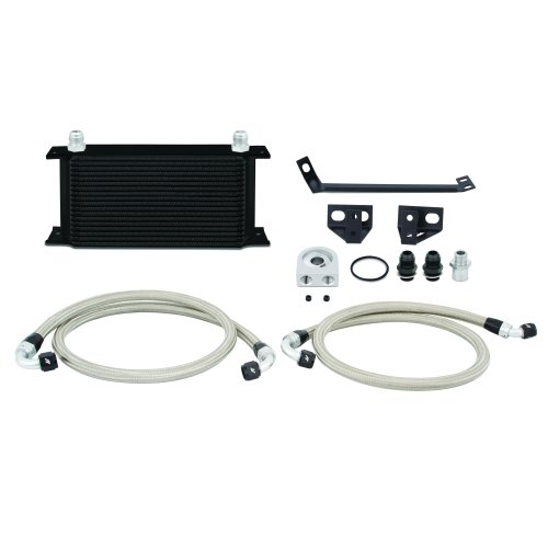 Mishimoto MMOC-MUS4-15BK Ford Mustang EcoBoost Oil Cooler Kit, 2015+, Black